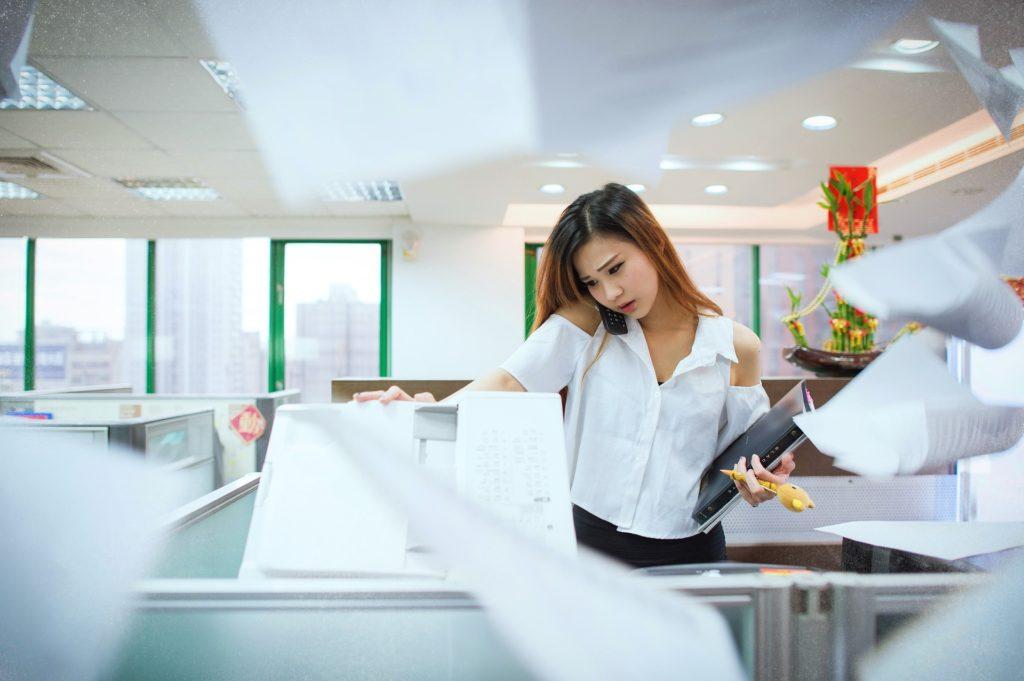 Pracující žena